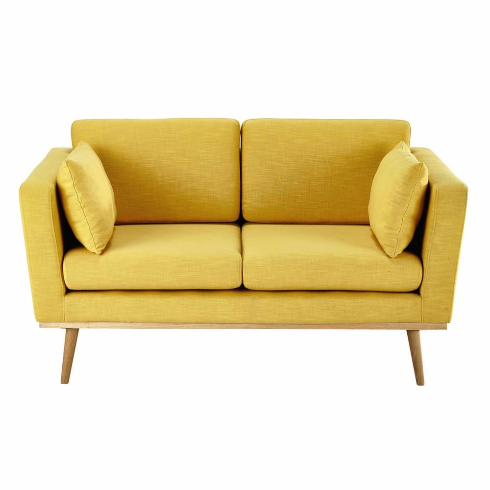canap 2 places jaune photos de canapes jaunes. Black Bedroom Furniture Sets. Home Design Ideas