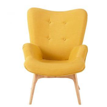 fauteuil jaune iceberg
