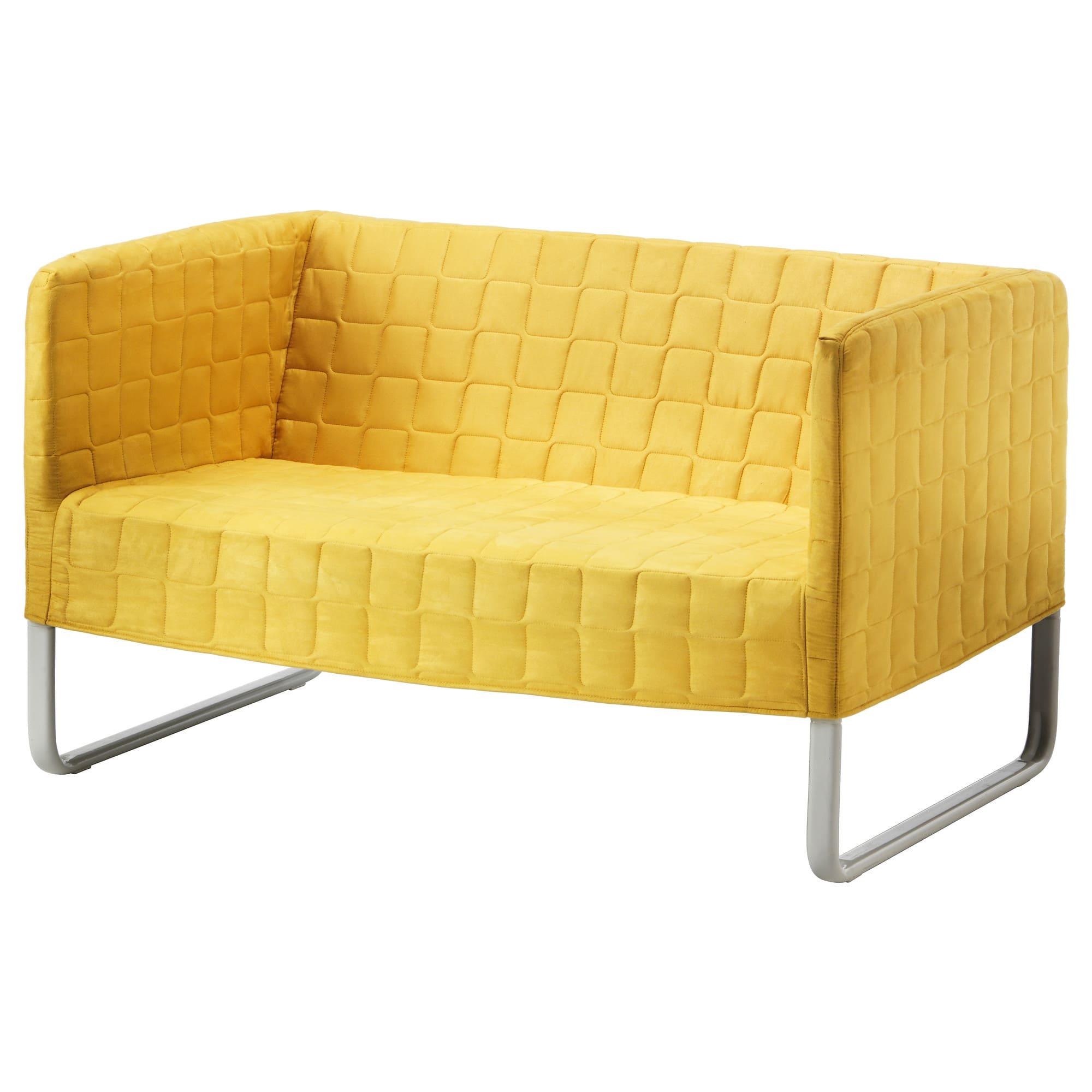 canapé jaune ikea
