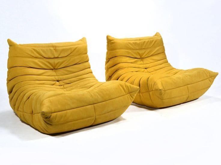 canap togo jaune de chez ligne roset photos de canapes. Black Bedroom Furniture Sets. Home Design Ideas